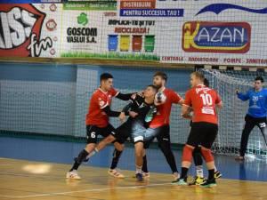 Sucevenii au arătat poftă de joc la Vaslui, în perspectiva confruntării de la Botoşani. Foto sportactual.ro