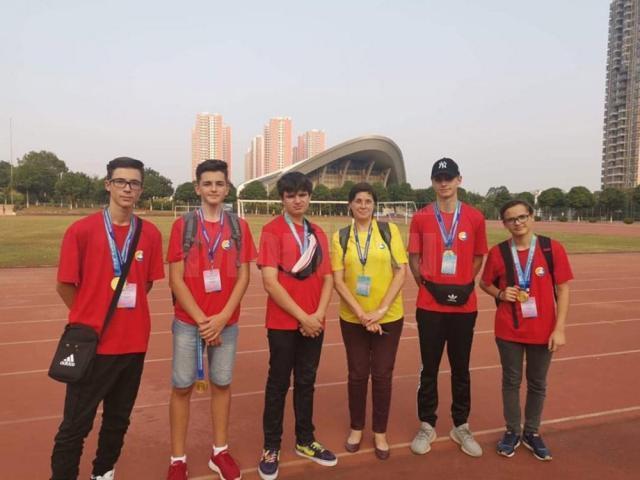 Elevii suceveni au fost impresionați de avansul tehnologic si de diversitatea culturală chineză