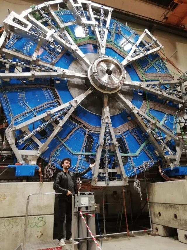 Daniel Prelipcean, la CERN
