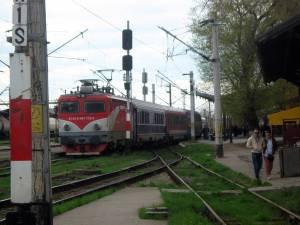 Ultimul tren IC plecat din Gara Suceava, în august 2013