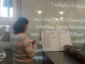 Simona Agache completează lista produselor în aşteptare, cu o plăcintă cu brânză