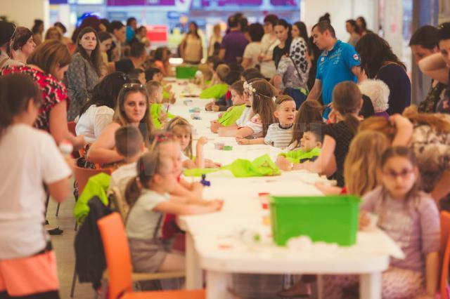 Târg de handmade şi activităţi educative pentru copii, la Iulius Mall Suceava