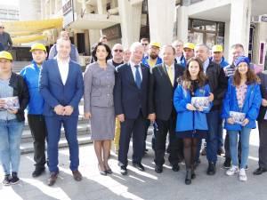 Liderul PNL Suceava, Gheorghe Flutur: Klaus Iohannis este garantul construcției autostrăzilor care vor scoate Suceava din izolare