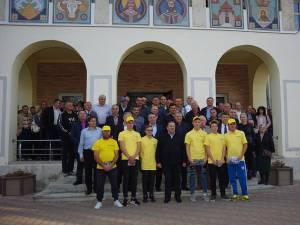 Gheorghe Flutur a participat la lansarea campaniei electorale pentru Klaus Iohannis în zona Siret