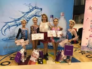 Premiile pentru gimnastele Asociaţiei Sportive Gym & D Bucovina