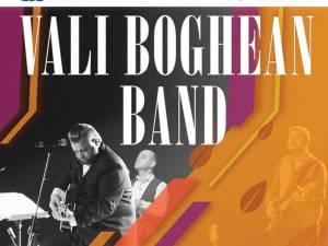 Vali Boghean Band concertează, mâine, la Suceava