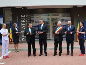 Momentul inaugurării Ambulatoriului Spitalului de Urgenţă Suceava