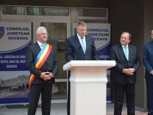 Preşedintele Klaus Iohannis, la inaugurarea Ambulatoriului Spitalului de Urgență Suceava