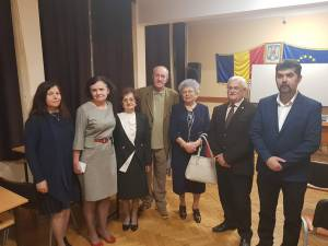 Vladimir Găitan, alături de profesori și foşti colegi
