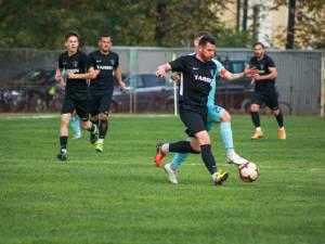 Stoian a reuşit o dublă pentru radăuțeni în disputa cu CSM Focșani. Foto Cristian Plosceac