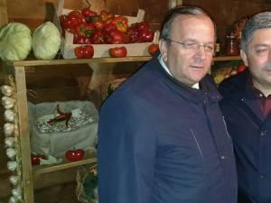 Gheorghe Flutur și președintele CJ Cluj, Alin Tișe