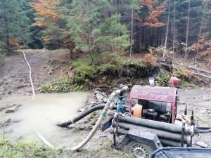 Accesul în zonă este greoi și sursele de apă reduse