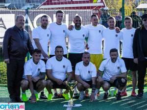 Echipa câştigătoare a ediţiei din acest an a Cupei Aqua Carpatica