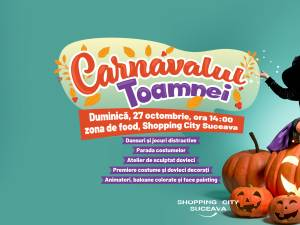 Carnavalul toamnei, la Shopping City Suceava