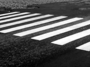 Fata se angajase în traversarea străzii pe o trecere de pietoni semnalizată cu indicator și marcaj rutier. Foto: www.monitorulcj.ro