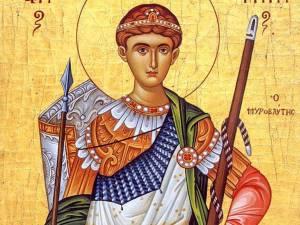 Sfântul Mare Mucenic Dimitrie, Izvorâtorul de Mir