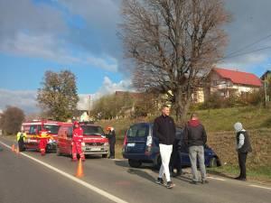 Accidentul petrecut la intrarea în Suceava
