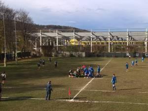 Partida de pe stadionul Unirea a fost un galop al liderului - Știința Petroșani