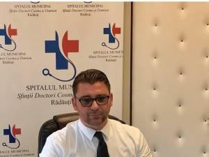 Traian Andronachi, managerul Spitalului Municipal Rădăuţi