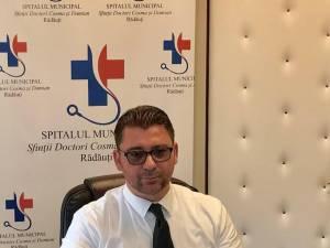 """Managerul Spitalului Municipal """"Sfinţii Doctori Cosma şi Damian"""" Rădăuţi, Traian Andronachi"""