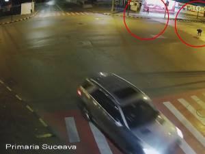 Acte de vandalism ale ultrașilor Dinamoviști pe străzile Sucevei