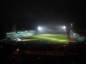 Nocturna pe Stadionul Areni, care va fi modernizat, de anul viitor