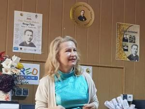 Prof. Elena Manuela David, directoarea Casei Corpului Didactic Suceava