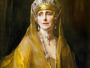 Portretul Reginei Maria din patrimoniul Muzeului Naţional Peleş