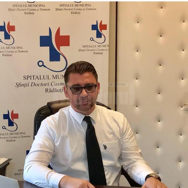 Avocatul Traian Andronachi, managerul Spitalului Municipal Radauti