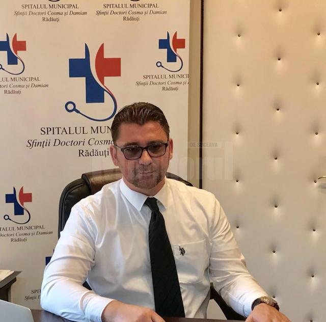 Managerul Spitalului Municipal Rădăuți, avocatul Traian Andronachi