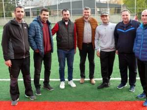 La Fălticeni s-a inaugurat un nou teren de sport multifuncţional