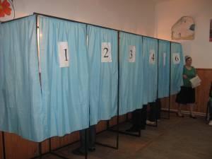 Secțiile de votare din județ au fost deschise fără a fi înregistrate probleme