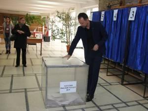 Marian Andronache a votat pentru un proiect de țară care are ca piloni de bază respectul, educația și performanța