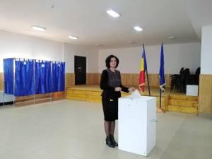 Angelica Fădor a votat pentru o țară în care fiecare român să se simtă protejat și demn