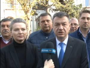 Ministrul Culturii, Bogdan Gheorghiu a ținut să voteze la Fălticeni pentru o Românie respectată pe plan internațional