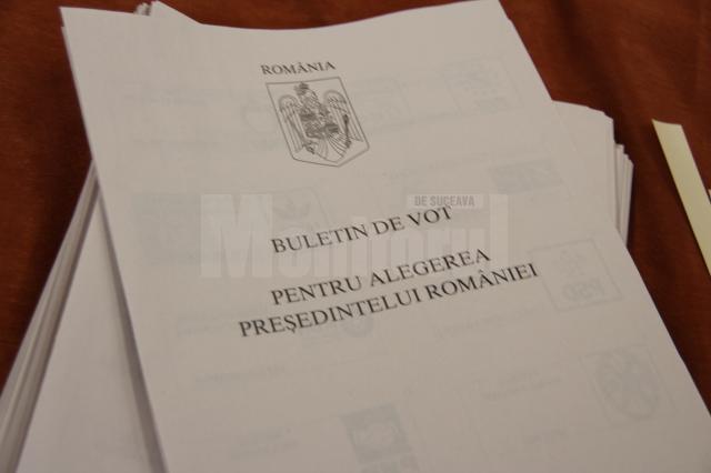 Aproape 240.000 de alegători au votat în județul Suceava la alegerile prezidențiale până la ora 18:00