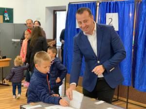 Viceprimarul municipiului Suceava Lucian Harșovschi