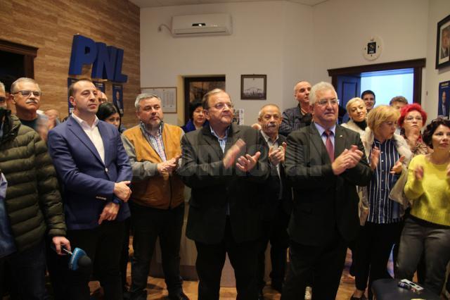 Gheorghe Flutur anunţă câştigarea alegerilor de către PNL în 84 de localităţi