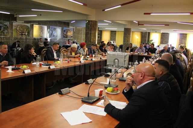 Ședință extraordinară de Consiliu Local pentru a solicita Guvernului transferul Parcului Șipote și al pădurii Zamca