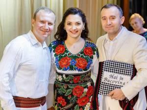 Laura Olteanu și frații Advahov