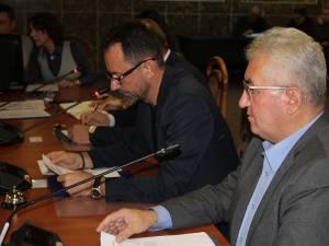 Primarul Ion Lungu a explicat că din proiect au fost excluse parcelele cu litigii, astfel încât să nu se blocheze HG-ul de transfer al parcului Șipote și pădurii Zamca