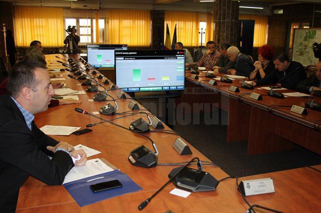 Noul sistem de vot din Consiliul Local Suceava