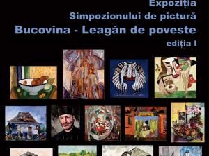 """Expoziția Simpozionului de pictură """"Bucovina - Leagăn de poveste"""", ediția I, se deschide vineri, la Galeria de Artă """"Ion Irimescu"""" Suceava"""