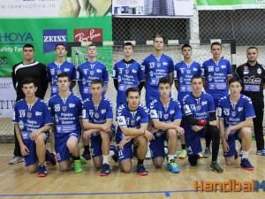 Echipa de juniori II de la CSU Suceava. Foto Handbalmania