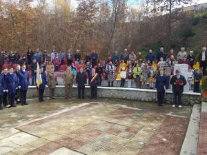 Acţiunea comemorativă de la Păiseni s-a desfăşurat pe 11 noiembrie, de Ziua veteranilor din teatrele de operaţii