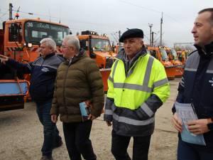 Pregătirile de iarnă ale firmei Diasil, verificate în teren de conducerea Primăriei Suceava 1