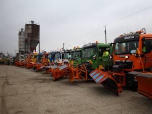 Pregătirile de iarnă ale firmei Diasil, verificate în teren de conducerea Primăriei Suceava 3