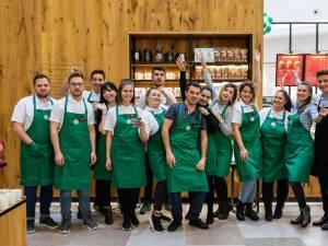 Prima cafenea din Suceava, situată la parterul centrului comercial Iulius Mall 2