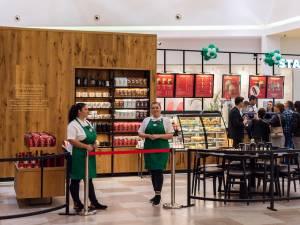 prima cafenea din Suceava, situată la parterul centrului comercial Iulius Mall 3