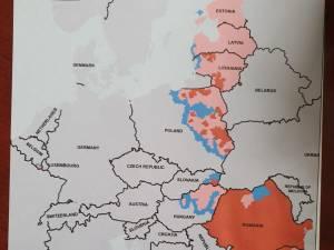 Harta Comisiei Europene pentru exportul cărnii de porc